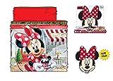 Minnie Braga de Cuello Disney Mouse RH4121 Talla Unica Bufanda (Rojo)