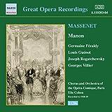 Massenet: Manon (Feraldy / Opéra-Comique) (1928-1929)