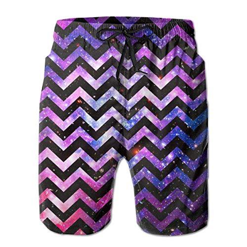 Nacasu Men's Summer Surf Swim Trunks Beach Shorts Pants Quick Dry with Pockets M