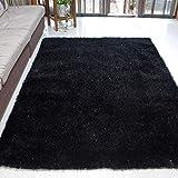 WJSWM Living Room Carpet Area Teppiche Bright Seidenfilament Line Braune Decke 120 * 170 cm Einfach Moderne Umwelt Skin-freundliche Teppiche,Black