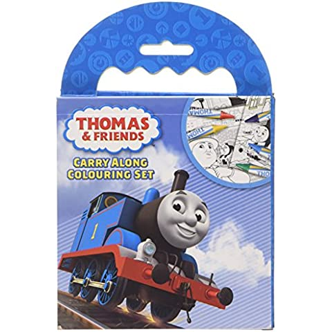 Thomas Carry Along Colouring Set