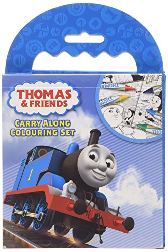 Anker THCAR Thomas & Friends Carry Along Colouring Set