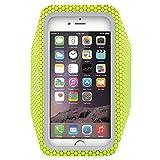 EOTW Brassard téléphone, Très fin et léger, avec L'écran tactile, Sport Brassard pour iPhone 6/6S à 11,94 cm (4,7 Pouce) , Ce brassard est très bien pour courir ou faire de la randonnée (Vert_ 4,7 Pouce)