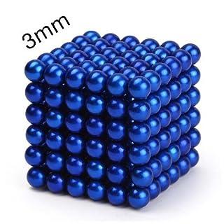 Magnet, 10 Stück pequeño blau