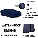 #7: Fabtec Original Waterproof Triple Stitched Blue Light Weight Car Body Cover For New Maruti Alto 800