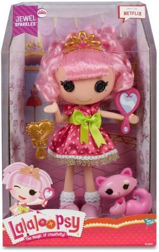 Lalaloopsy Unterhaltung Große Puppe Juwel Glittzer (Lalaloopsy Puppe Kleid)