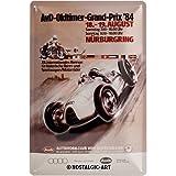 Nostalgic-Art 20286 Traditionsmarken - Audi AvD Oldtimer Grand Prix, Blechschild 20x30 cm