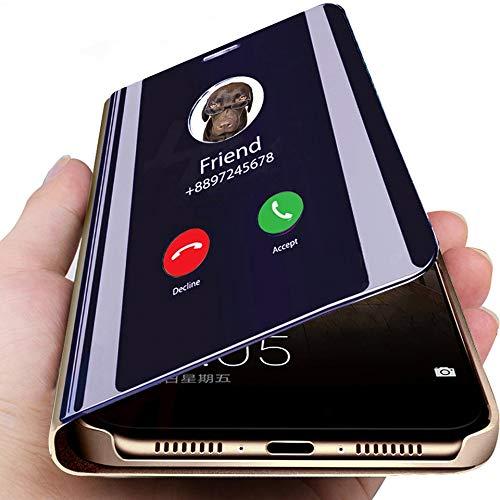 XULINGKE Etui pour téléphone portable Coque Smart Mirror pour Samsung  Galaxy A50 S10 S9 S8 Plus S10E a8 A7 2018 Note 9 8 A40 A70 A50 A90 A30