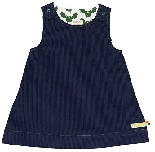 �dchen Kleid Wendekleid Cord, Blau (Midnight Mi), 104 (Herstellergröße: 98/104) (Mädchen Kleid Shop)