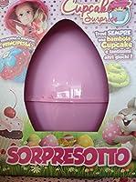 SORPRESOTTO CUpcake UOVO CONTENITORE REGALI PASQUA 2016 Il SORPRESOTTO DI CUPCAKE è uno speciale contenitore a forma di uovo, ideato da GRANDI GIOCHI. È perfetto per rendere unico il giorno di Pasqua a tutte le bambine amanti delle CUPCAKE. G...