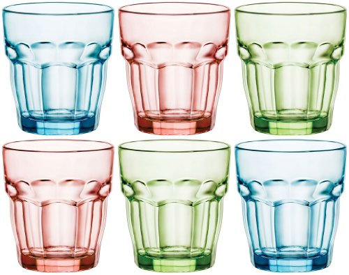 Bormioli Rocco 418930B03321990 Rock Bar Lounge 27 cl Mint Verde