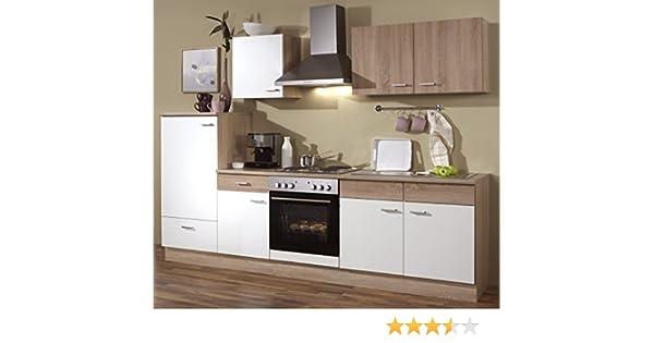 Kühlschrank Gebraucht : Küchenzeile cm komplett küche mit kühlschrank herd backofen