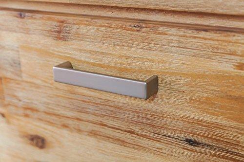 Möbelkultura COL-1Wohnwand tv-schrank, Vitrine Bücherschrank, Holz, braun / grau, 70 x 174 x 200 cm - 6