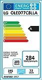 LG OLED77C8LLA 196 cm (77 Zoll) OLED Fernseher (Ultra HD, Twin Triple Tuner, 4K Cinema HDR, Dolby Vision/Atmos, Smart TV)