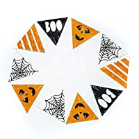 On The Wall Halloween 4 Design Pennant Flag Bunting - 3 metre