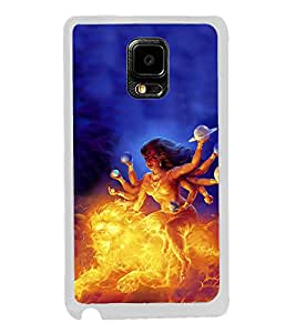 ifasho Godess Durga Back Case Cover for Samsung Galaxy Note 4 Edge