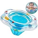 Baby Schwimmring, aufblasbare Kleinkind Schwimmring Pool Schwimmen Float mit Schwimmsitz Ideal für Kinder Planschbecken, Baby Schwimmring mit hautfreundlichen PVC passt für Infant Kleinkind Schwimmhilfe Spielzeug von 6 Monaten bis 3 jahr