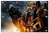 Transformers Format: 150x100 cm Bild auf PVC-Plane/Banner, Hochwertiger XXL Kunstdruck als Wandbild inkl. Ösen!!