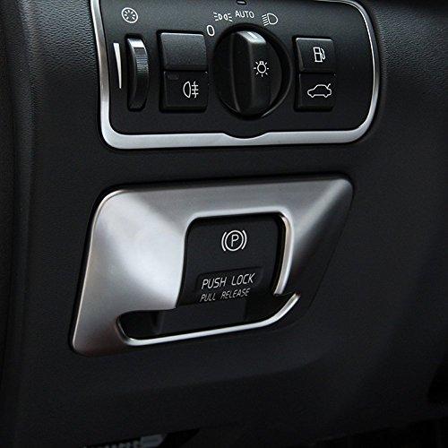 KFZ ABS Chrom Elektronische Feststellbremse Button Cover Trim Aufkleber Auto Styling Innen Zubehör Upgrades