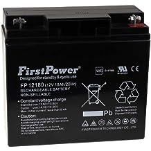 FirstPower Batería de GEL para SAI APC Smart-UPS 5000 Montaje en Rack/Torre 12V 18Ah VdS