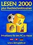 Lesen 2000 plus Rechtschreibtrainer 3...