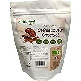 Crème saveur sucrée bio - Préparation Vegan Chocolat