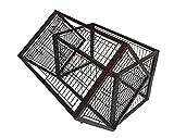 Simply Flip M | Hundekäfig | Hundebox | Doppelkäfig | Laufstall | Welpengehege | Flip-Over-Funktion | 2 Türen