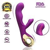 Die besten Frauen Vibratoren - MEROURII Dualer Motor G Punkt Vibratoren - Klitorisstimulation Bewertungen