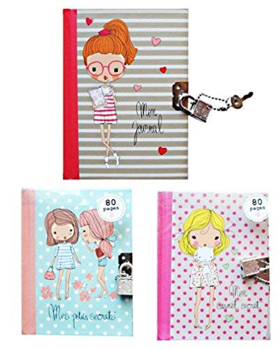 1-journal-intime-carnet-secret-cadenas-2-clefs-80-pages