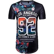 Camisetas, ❤ ⚽️Ba Zha Hei Camiseta con estampado de fútbol de la cool