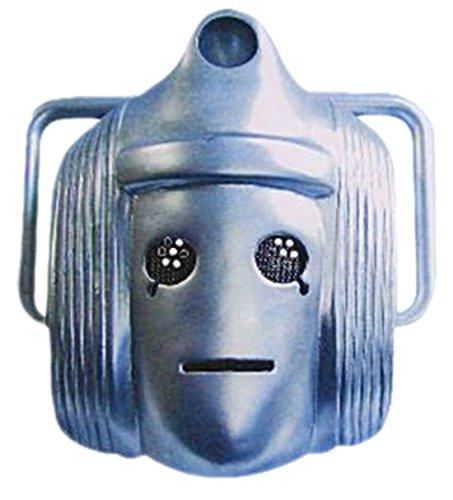 Halloweenia - -Erwachsenen Cyberman Karneval Faschingsmaske, (Halloween Cyberman Kostüme)