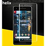 Google Pixel 2 Helix 5D 9H Tempered Glass Full Screen Coverage Anti-Scratch Protective Film Edge to Edge Tempered Glass for Google Pixel 2 - TRANSPARENT