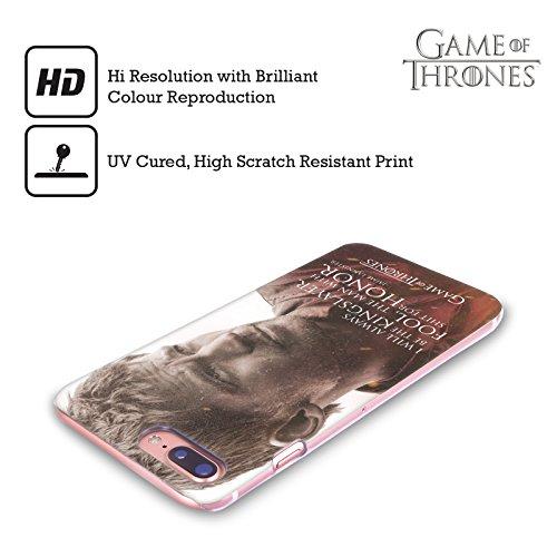Ufficiale HBO Game Of Thrones Jon Snow Ritratti Dei Personaggi Cover Retro Rigida per Apple iPhone X Jaime Lannister