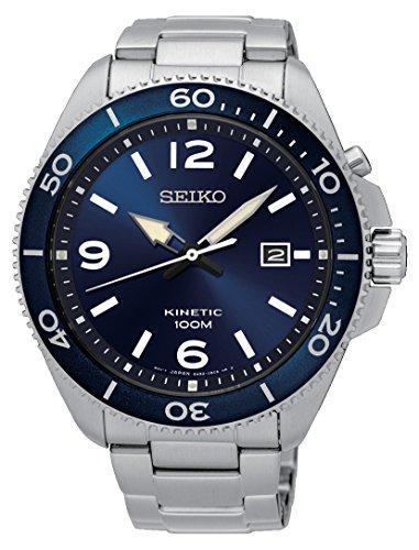 Seiko Reloj Analógico Unisex con Correa de Chapado En Acero Inoxidable – SKA745P1