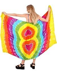 Beachwear maillot de bain coverup wrap femmes maillots de bain maillot de bain sarong station d'usure de la piscine portent multicolore