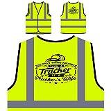 Esposa Camioneros Chaqueta de seguridad amarillo personalizado de alta visibilidad s405v
