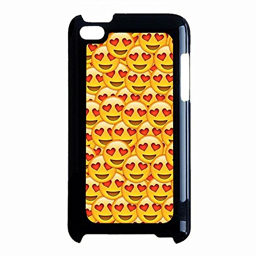 Emoji Ipod Touch 4th Generation Case Hart Eyes Love Emoji Phone Case Cover for Ipod Touch 4th Generation Emoticons Charming (Ipod Generation 4th Cover)