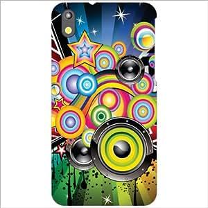 HTC Desire 816G Back Cover - Loudspeaker Designer Cases