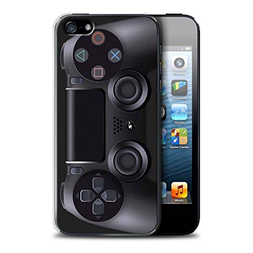 Preisvergleich Produktbild Stuff4 Hülle / Hülle für Apple iPhone 5 / 5S / Playstation PS4 Muster / Spielkonsolen Kollektion