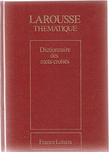 Dictionnaire des mots croisés par Collectif