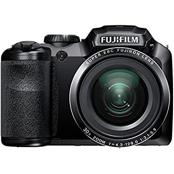 Fujifilm FinePix S4800 Digital Camera - Black (16 MP, 30x Optical Zoom) 3.0 inch LCD (discontinued by manufacturer)