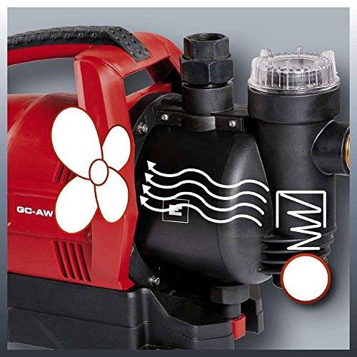 Einhell GC-AW 6333 Hauswasserautomat inklusive Vorfilter + Rückschlagventil + Trockenlaufschutz - 4