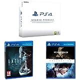 PlayStation 4 (PS4) 500 GB Consola - (Reacondicionado Certificado) - Chasis B + Until Dawn + Heavy Rain & Beyond: Dos Almas - Collection