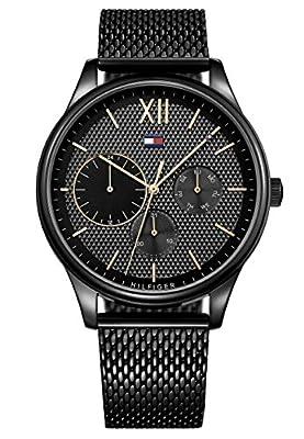 Tommy Hilfiger Reloj Multiesfera para Hombre de Cuarzo con Correa en Acero Inoxidable 1791420