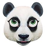 Boland 00225 - Máscara de Panda Jumbo (40,5 x 35 cm), Color Negro y Blanco