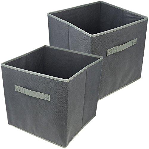 Com-four® 2X Cajas de Almacenamiento Plegables