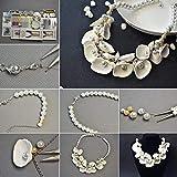 Pandahall Elite ca. 367 g/Karton Shell Perlen natürlichen Seashell Charms für Anhänger DIY Handwerk Machen Home Party Dekoration, natürliche Farbe, gemischten Stil - 6