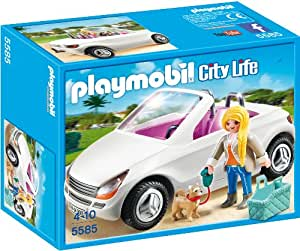 playmobil 5585 schickes cabrio spielzeug. Black Bedroom Furniture Sets. Home Design Ideas
