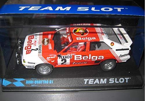 Fly SCALEXTRIC Audi Quattro A1 Team Belga DE Team