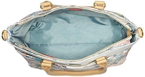 Oilily Damen M Carry All Schultertasche, 15 x 27 x 32 cm Beige (Melon Sorbet)